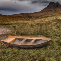 Boat and Stac Pollsidh