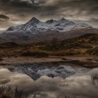 Mountain Loch - Skye