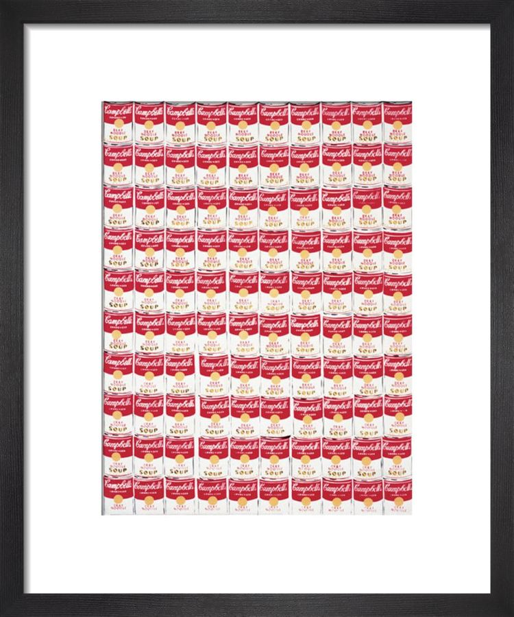 One Hundred Cans, 1962 Art print by Andy Warhol