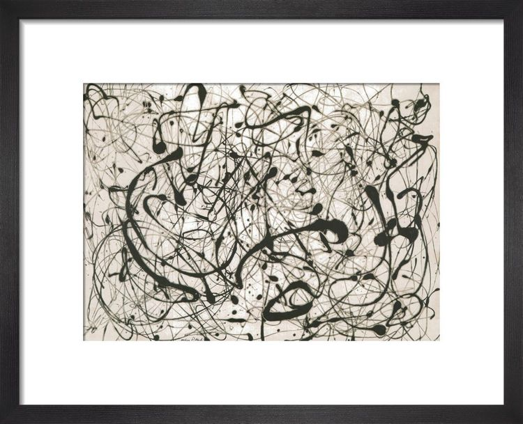 Number 14 Gray by Jackson Pollock