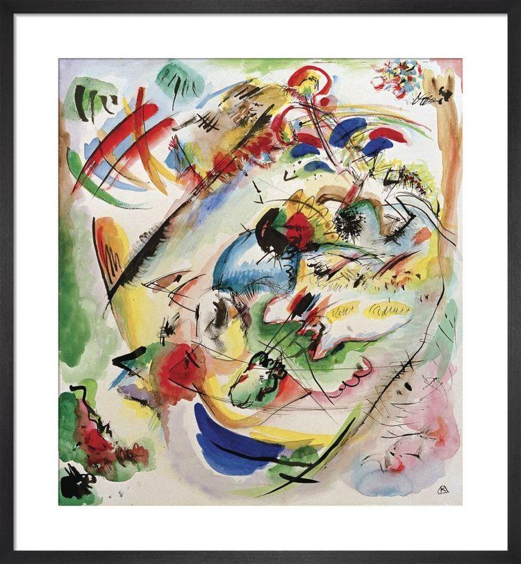 Traumerische Improvisation 1913 by Wassily Kandinsky
