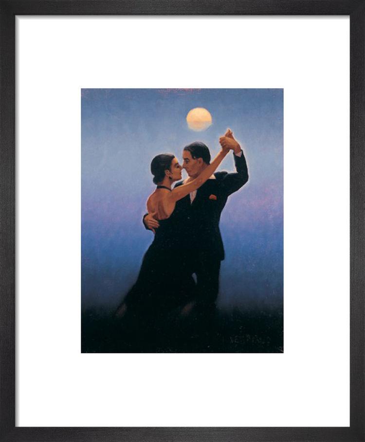 Tango Dancers by Jack Vettriano