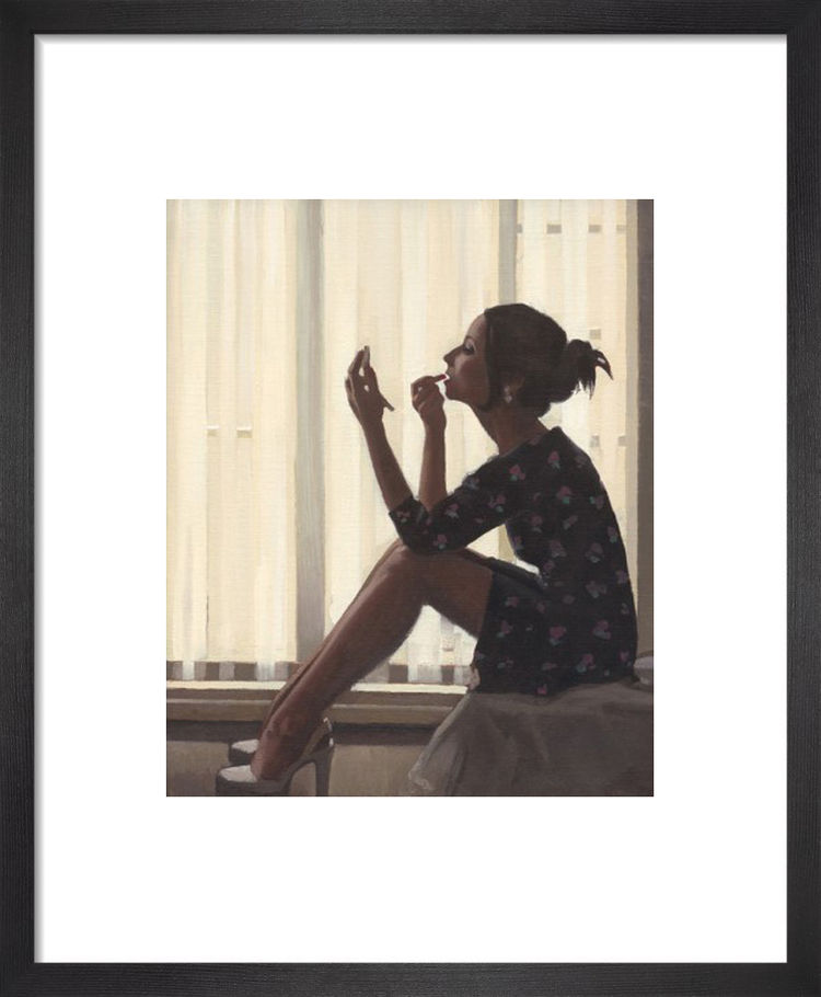 Only The Deepest Red II by Jack Vettriano
