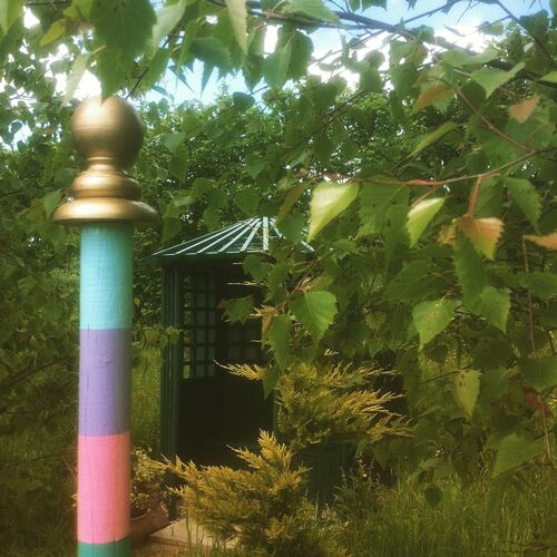 Bird Cage Gazebo and Pole
