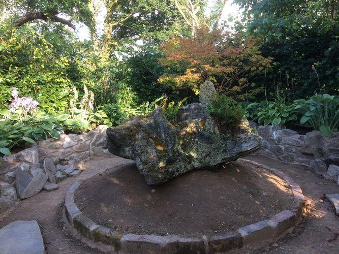 Mountain in the Island Garden