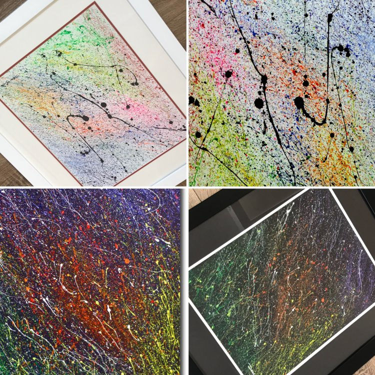Cosmic Series - Abstract Art by Dave Waddington