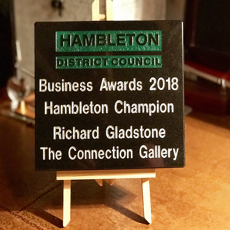 Richard Gladstone, Hambleton Champion, Hambleton Business Awards 2018