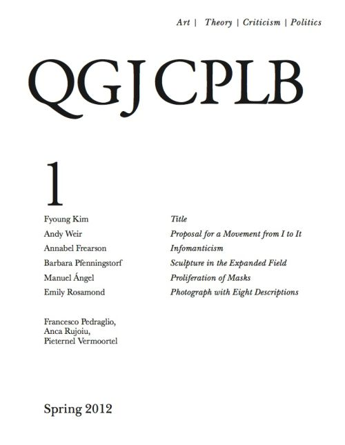 QCJCPLB, 2012