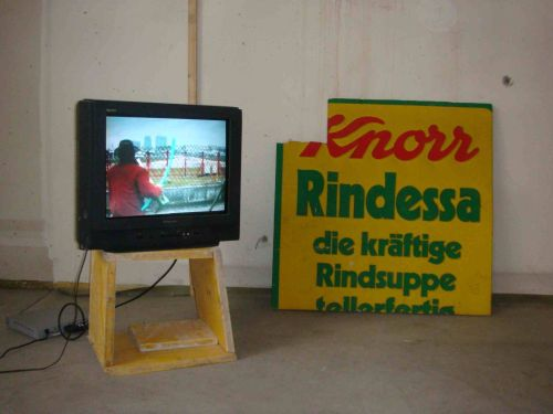 installation view, Breathless, Vienna, 2009