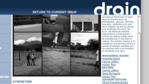 Drain Magazine: Syncretism, 2005