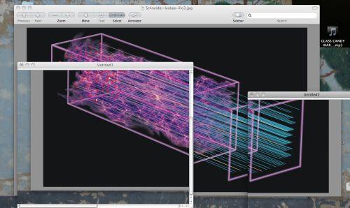 Untitled (simulating future acoustic oscillations), 2012-2013