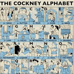 The Cockney Alphabet (blue)