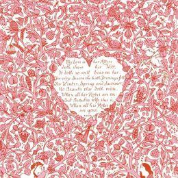 My Love in Her Attyre. (Pink)