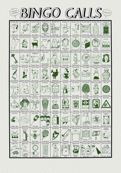 Bingo Calls (Green)