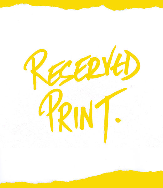 Reserved Print.