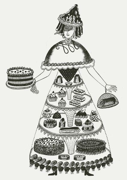 Food Ladies - Cake