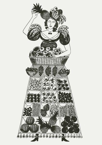 Food Ladies - Fruit