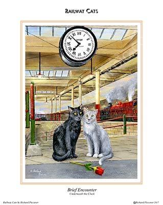 Brief Encounter, underneath the clock