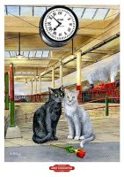 Brief Encounter, underneath the clock
