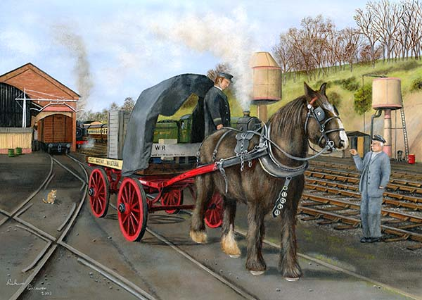 The Working Horse