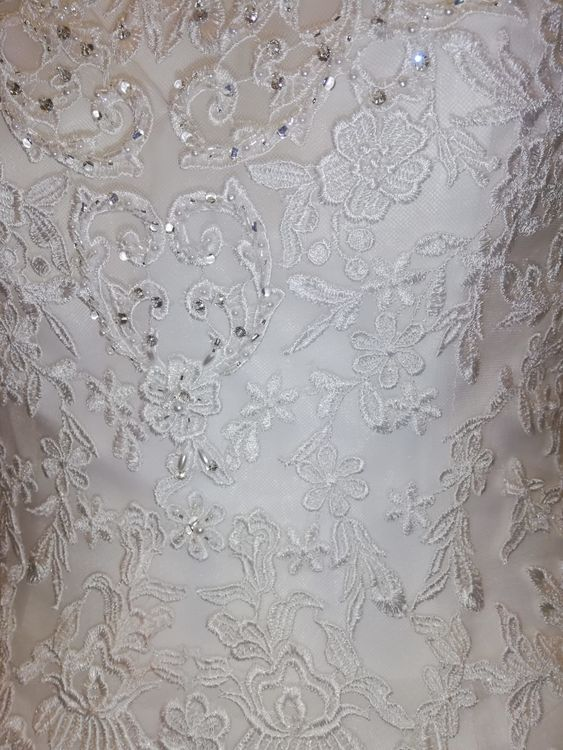 "Wedding Dress detailing - Tiffany ""Jessica Grace"" collection"