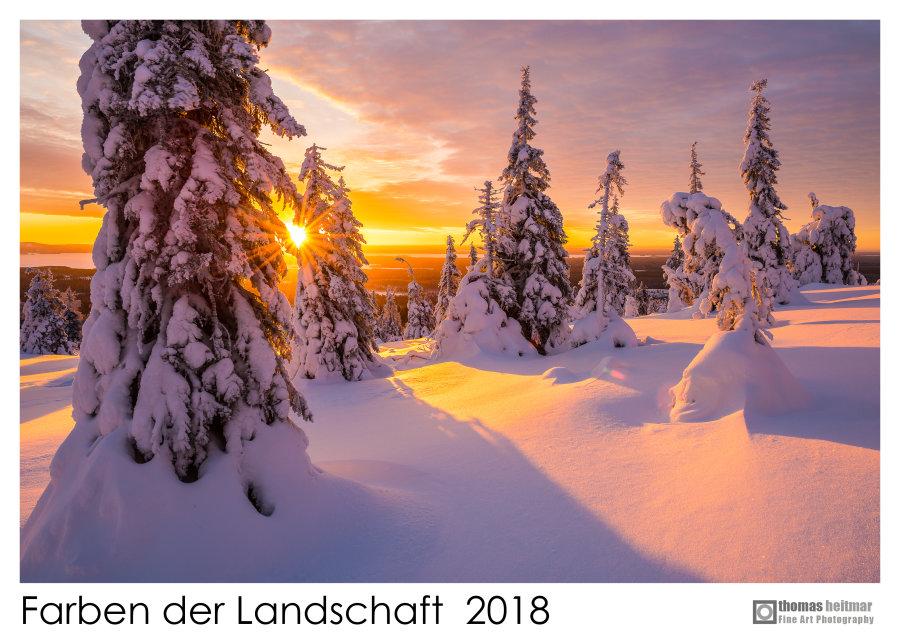 "Landscape Calendar ""Farben der Landschaft 2018"""