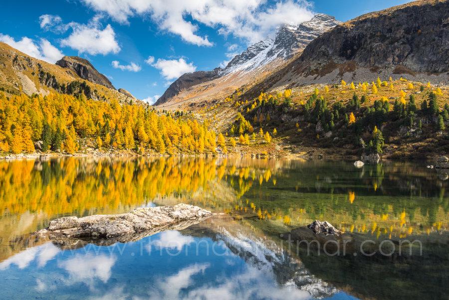 Picture of the Month - October 2015 - Lagh da Val Viola, Poschiavo, Switzerland