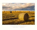 """Rolls of Straw - Scotland"" Poster"