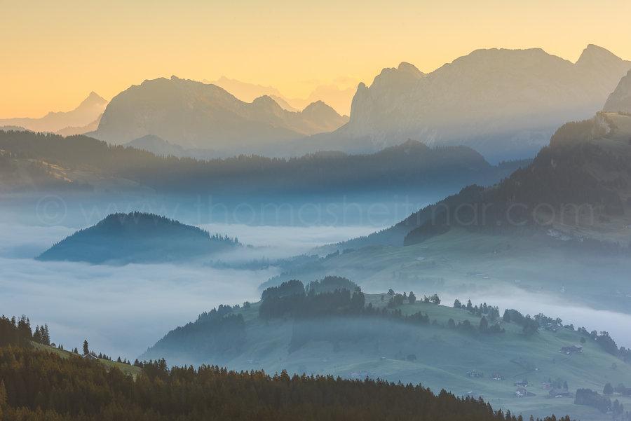 Picture of the Month - September 2015 - Swiss Alps, Canton Schwyz, Switzerland