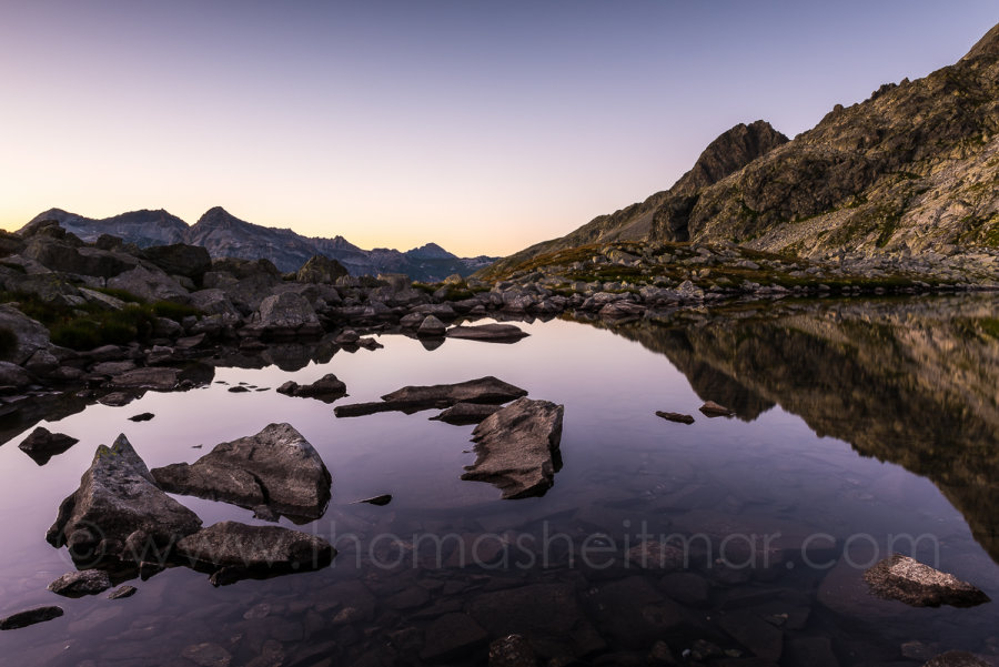 Picture of the Month - August 2016 - Bergseeli, Splügenpass, Switzerland