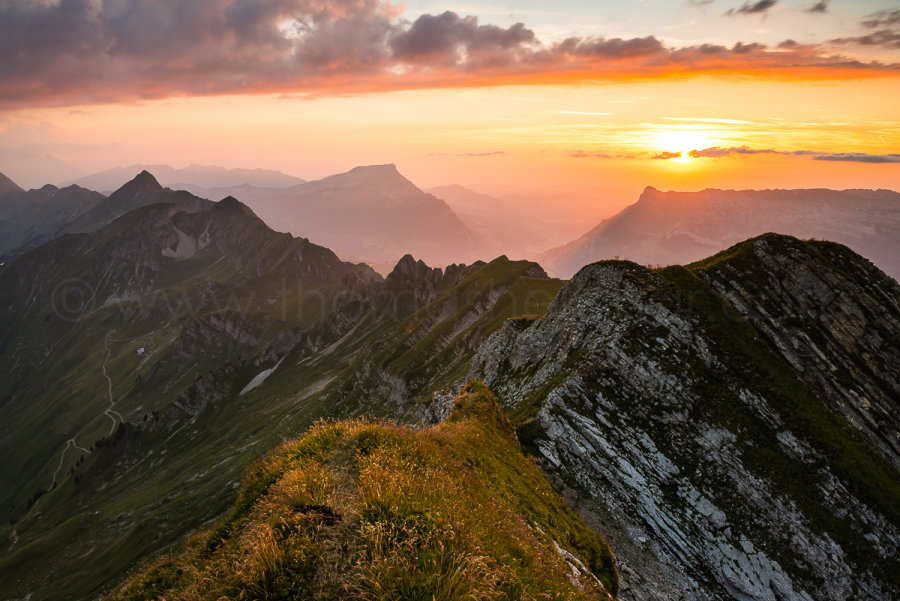 Picture oft the Month - August 2015 - View from Rothorn, Canton of Berne, Switzerland