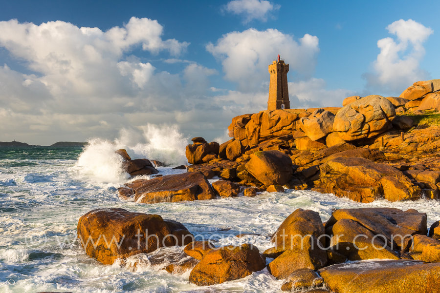 Picture of the Month - March 2016 - Ploumanac'h Lighthouse, Perros-Guirec, France