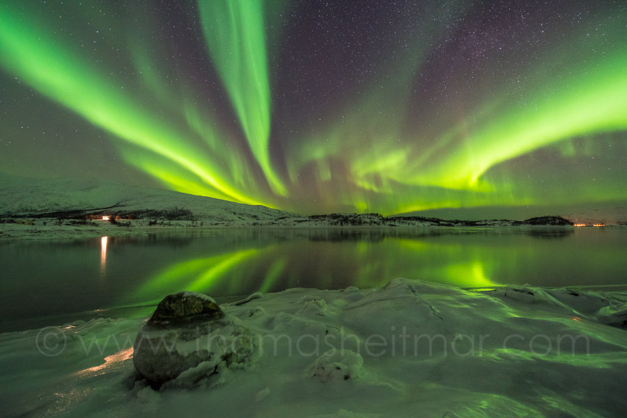 Picture of the Month - January 2016 - Northern Lights - County Troms, Norway