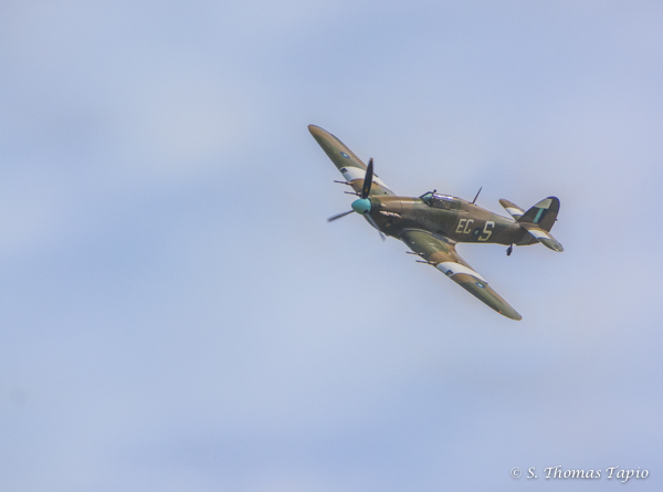 Tankfest July 2015 - A Hurricane Show Time