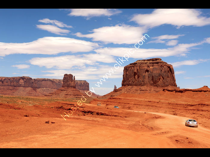 Drive through Monument Valley