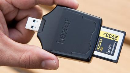 Lexar XQD 2.0 USB3 card reader