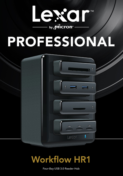 Lexar 'Professional Workflow' 4-bay hub