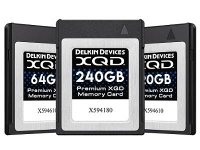 Delkin XQD cards