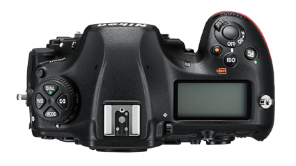D850 - the mode and ISO buttons have switched positions