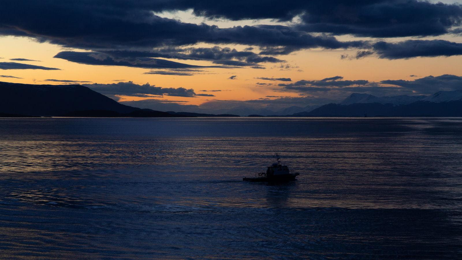 Beagle Channel Sunset