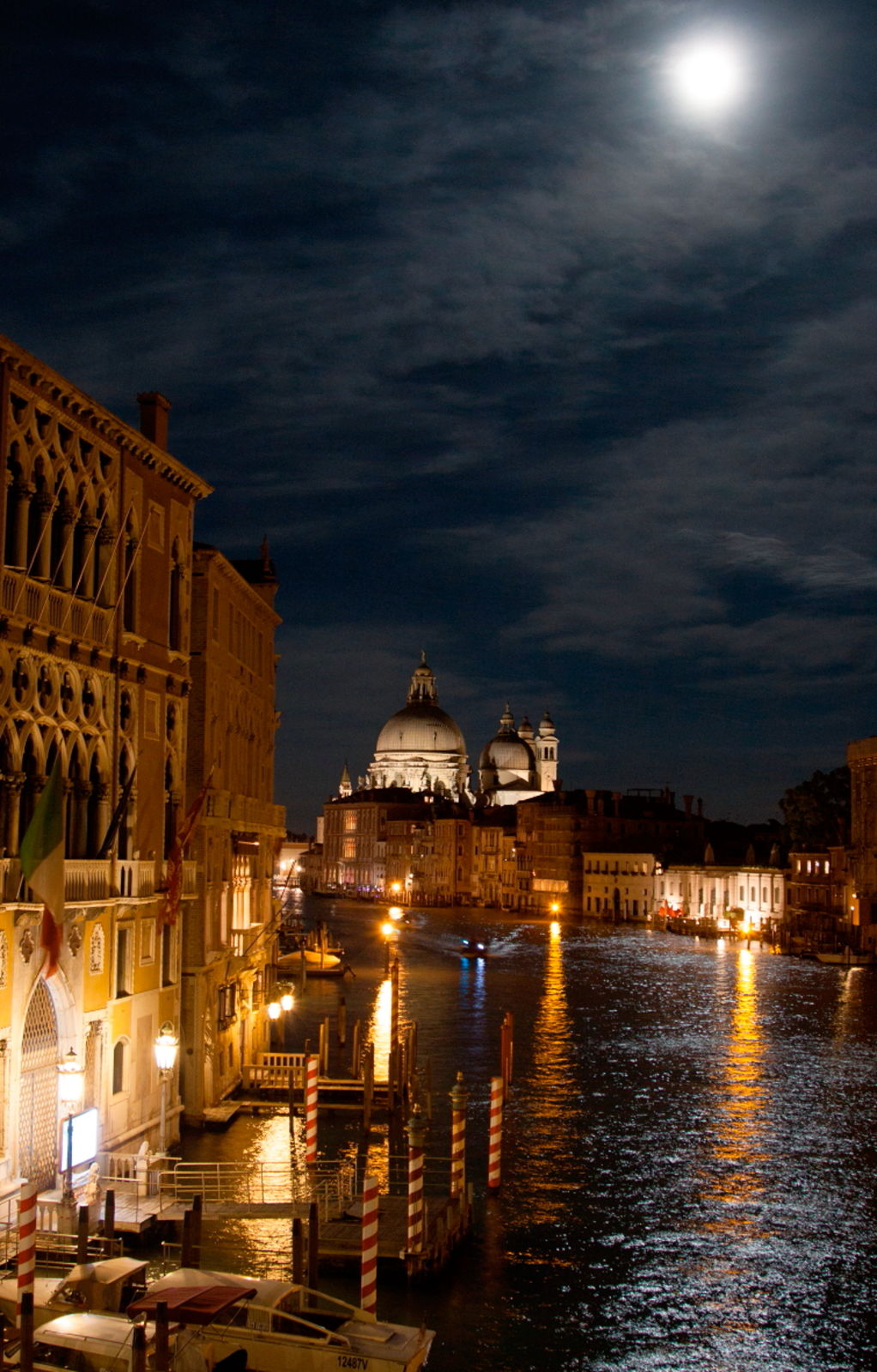 The Grand Canal By Moonlight, Venice