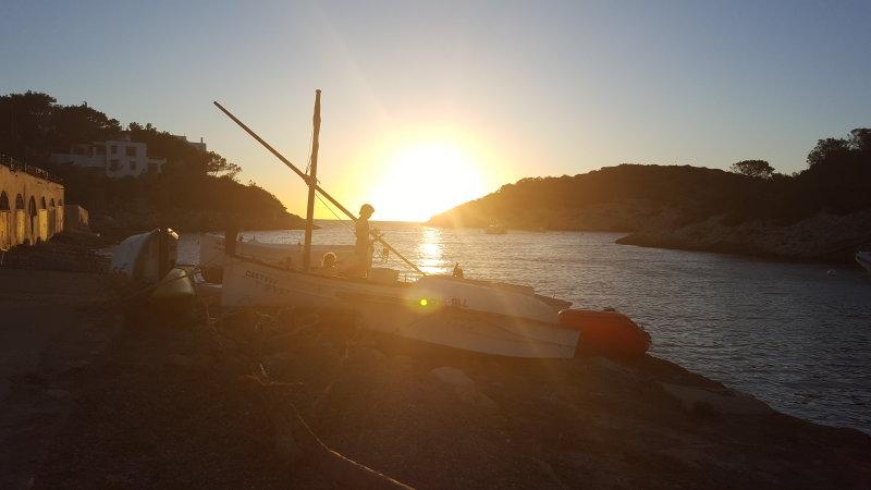 Portinax at Sunset