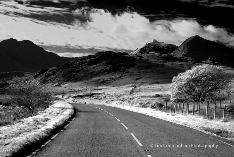 Road to Mt. Snowden