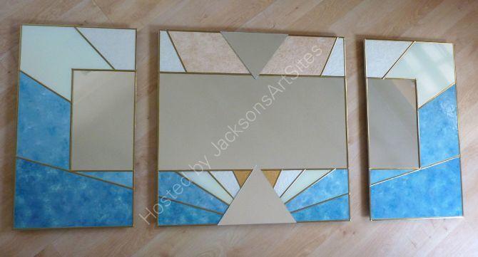 Mirror triptych