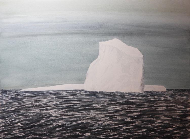 The First Iceberg (2)-57 x 32cm
