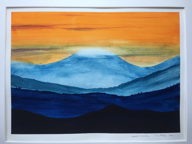 Sacred Mountain. Sold