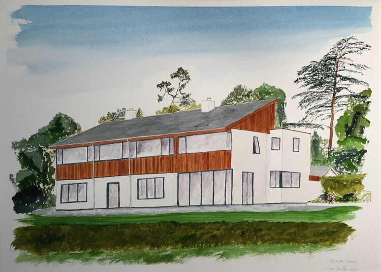 Beacon Downe, 53 x 38 cm- Commission- sold