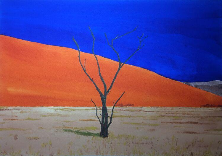 Sossusvlei- Namibia. 50 x 36cm
