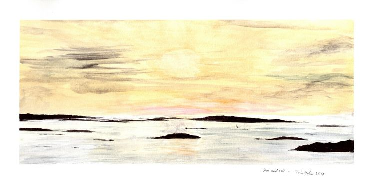 Sun and Coll. 34x15cm
