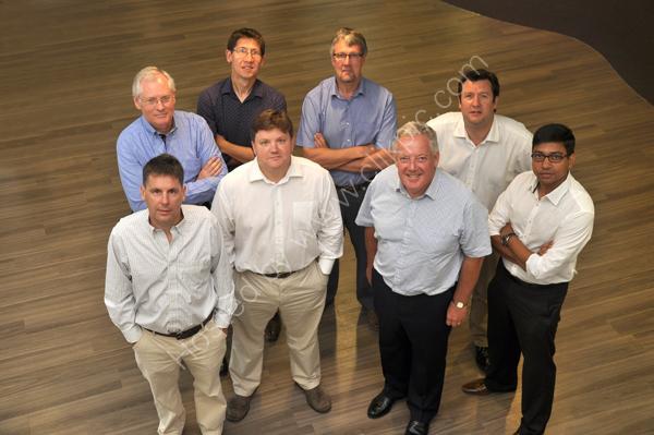 Staff  members of Rezatec